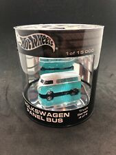 Hot Wheels 2004 Volkswagen Panel Bus Teal Oil Can Truck Series Rare HTF New LE
