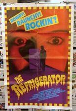THE REFRIGERATOR (1991) Cult Classic Horror Comedy One Sheet Movie Poster RARE