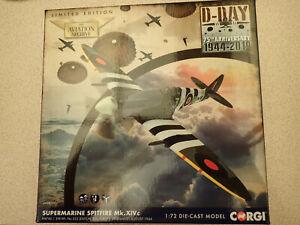 Ltd Edn Corgi Aviation Archive 1:72 AA38707 Spitfire MK.XIVc 322 Sqn Untouched