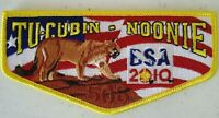 OA TU CUBIN NOONIE LODGE 508 BSA UTAH NATIONAL PARKS UT 2010 BSA 100TH ANN FLAP