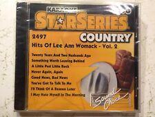 SOUND CHOICE KARAOKE CDG Hits of Lee Ann Womack Volume 1     2497