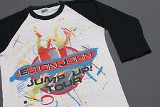 S * thin vtg 80s 1982 ELTON JOHN raglan concert tour t shirt * 26.118