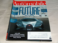 AUTOMOBILE agosto 2015 COCHE Revistas Future! bugatti's OUTLANDISH 1,500 -hp
