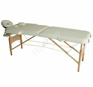 Light Weight Foldable PU Portable Massage Table Couch Bed With Carry Bag New