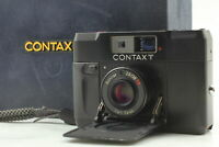 [Near MINT in Box] Contax T BLACK Rangefinder Film Camera From JAPAN
