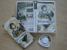 Puzzle Quest: Challenge of the Warlords for Sony PlayStation Portable (PSP)