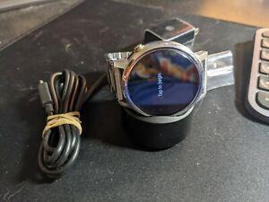 Motorola Moto 360 2nd Gen. 46mm Stainless Steel Case Silver Link Bracelet