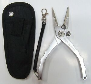 PROFI BLINKER 578 Hakenlöse und Kombi-Zange aus poliertem Flugzeugaluminium