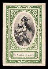 santino incisione 1800 S.GIOVANNA