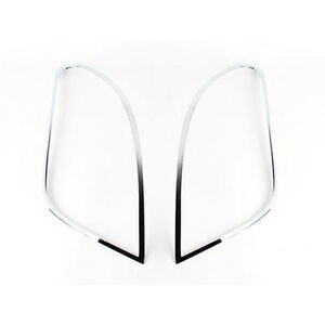 Chrome Rear Tail Light Lamp Molding Cover 2p 1Set For 2013 Chevy Trax