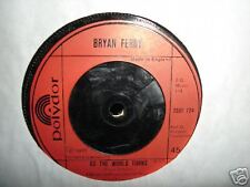 Bryan Ferry As The World Turns /This Is Tomorrow 45 RPM VINYL