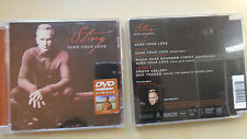 Sting/Send your love DVD-Single 3 Audio Tracks & Video 2003 /DVD