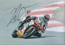 Leon CAMIER 12x8 SIGNED Grand Prix APRILIA Alitalia Photo Autograph AFTAL COA