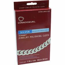 """Connoisseurs Gold Jewelry Polishing Cloth Cleaner 8"""" x 10"""""""
