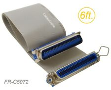 6ft. CN50 50-Pin Female to CN50 50-Pin Male Extension Ribbon Cable