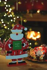 Kitchencraft Santa & Friends Countdown to Christmas Wooden Sign Advent  Calender