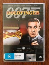 Goldfinger 007 DVD Ultimate Edition 2 Disc set  Region 4 Disc's VGC Sean Connery