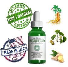 Ginseng Natural Hair Loss Treatment Fast Growth DHT Blocker Amber Lotion 2 Oz