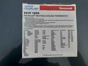 Honeywell The Round Non-Programmable, Mechanical Thermostat T87F NEW