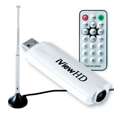 Freeview HD Amplificado Usb Escritorio Laptop Receptor Digital Sintonizador de TV Stick DVB-T2