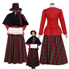 A Christmas Carol Costume Cosplay Suit Women's Outfit