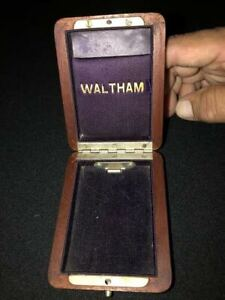 Waltham pocket watch box