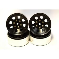 Hot Racing BLW19SS01 Bead Lock (Beadlock) Wheels 1.9 inch 6-Lug Hex (4) (black)