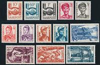 SAARLAND 1948, MiNr. 239-251, 239-51, tadellos postfrisch, Mi. 45,-