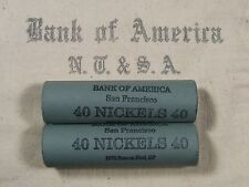 (ONE) BoA SF Buffalo Nickel Roll 40 Coins - 1913 1938 P D S (645)