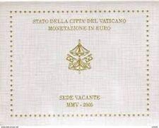 VATICANO VATIKAN SERIE DIVISIONALE 2005- Sede Vacante