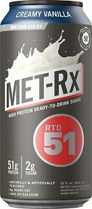 MET-Rx Ready to Drink Protein Shake, Keto Diet Friendly, Snack, Gluten Free 15oz