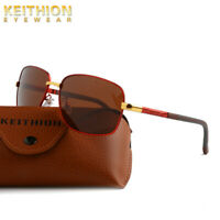 KEITHION Polarized Mens Women Sunglasses Square Vintage Sports Outdoor Eyewear