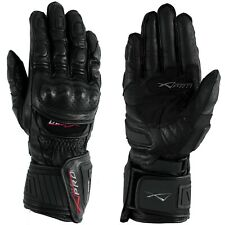 Protective Racing Cruiser Motorcycle Motorbike Quality Gloves A-pro Black M