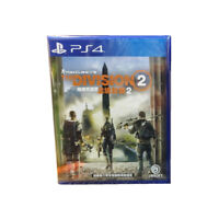 Tom Clancy's The Division 2 PlayStation PS4 2019 English Chinese Pre-Owned