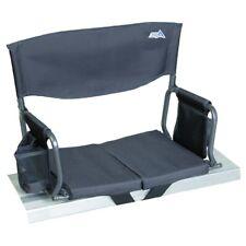 Rio Gear Bleacher Boss Compact Stadium Seat - Black - Opened packed - NEW