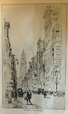 1917 New York City Example for the Nation illustrated