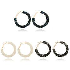 Jewelry Elegant Ear Stud Earrings Dangle Hoops Hook Crystal Fashion Wedding New