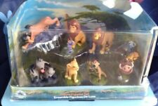 Disney Store Lion king deluxe figurine Set Complete new in package pvc set 9 pcs