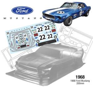 1/10 1968 Ford Mustang Tamiya TT01 TT02