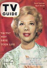 1959 TV Guide April 18 - Dinah Shore; Gene Kelly; Rawhide; David Janssen; C Gray