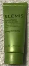 Elemis - Superfood Facial Wash Cleanser - 1oz / 30ml - Travel Size New & Sealed