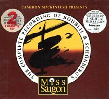 Miss Saigon Musical Official Complete Recording - RARE - 2 CASSETTE BOX SET