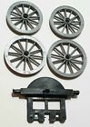 Vintage Timpo American Wild West Wagon Series Gun Carriage Spares