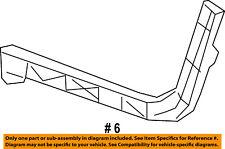 Dodge CHRYSLER OEM 08-18 Challenger Rear Bumper-Lower Bracket Left 68024341AF