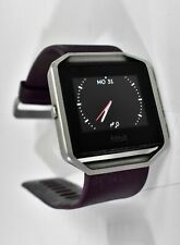 Fitbit Blaze Smart Fitness Watch and Purple Band FB502