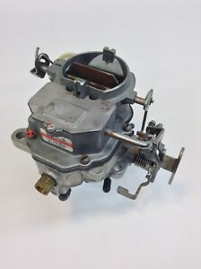 CARTER BBD CARBURETOR 1977 CHRYSLER DODGE PLYMOUTH V6 ENGINE MANUAL TRANS
