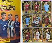 Panini Adrenalyn XL Premier League 2020/21 Full Complete Album w Golden Ballers