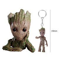 Baby Groot Blumentopf Stiftehalter Guardians of the Galaxy Übertopf mit Anhänger