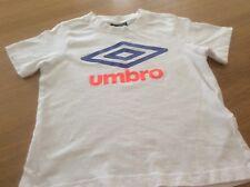 T-Shirt - Boys Umbro - White - age 4