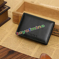Men's Real Leather Wallet Bifold ID Credit Card Holder Mini Purse Money Clip